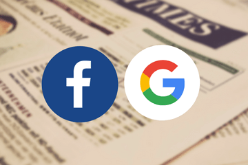 Are Google and Facebook showing the way forward for news publishers?