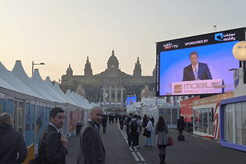 MWC Day 2 - Connected, but…