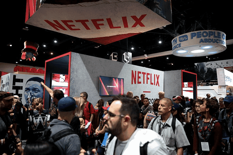 Netflix turns to print to promote its shows