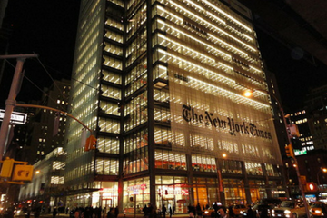 The New York Times subscription revenues up by 20%