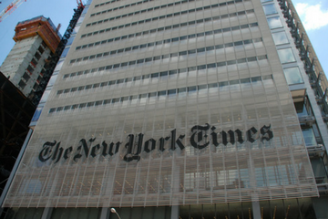 The New York Times subscription revenue crossed $1 billion in 2017