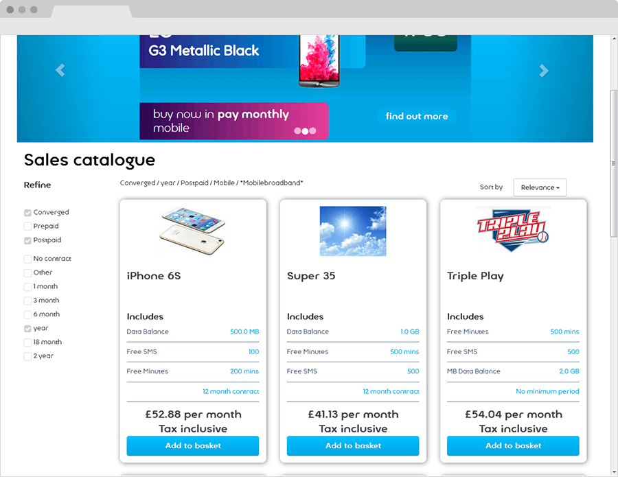 Self Service - Browse Catalogue